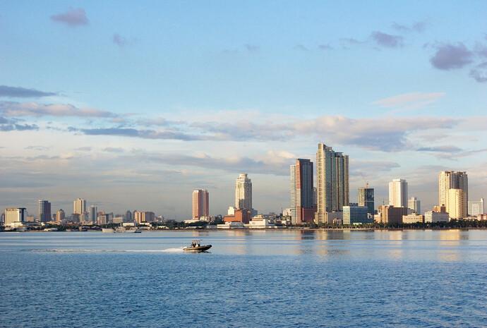 Круиз по Манильской бухте