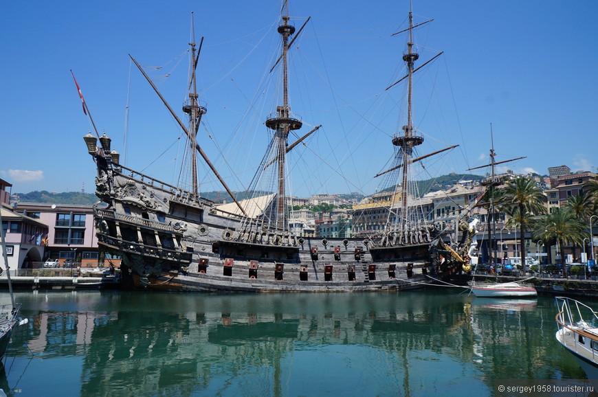 """Пиратское Судно-галеон """"Нептун"""".Красивая картинка снаружи.Экскурсия на корабль не стоит заявленных денег."""
