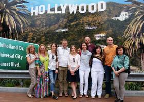 Голливуд Бульвар и мои туристы