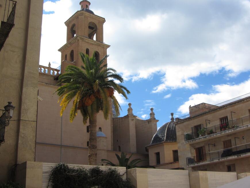 Кафедральный собор, вид сбоку