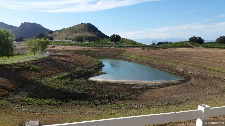 Пейзажи ранчо Саддлрок в Малибу
