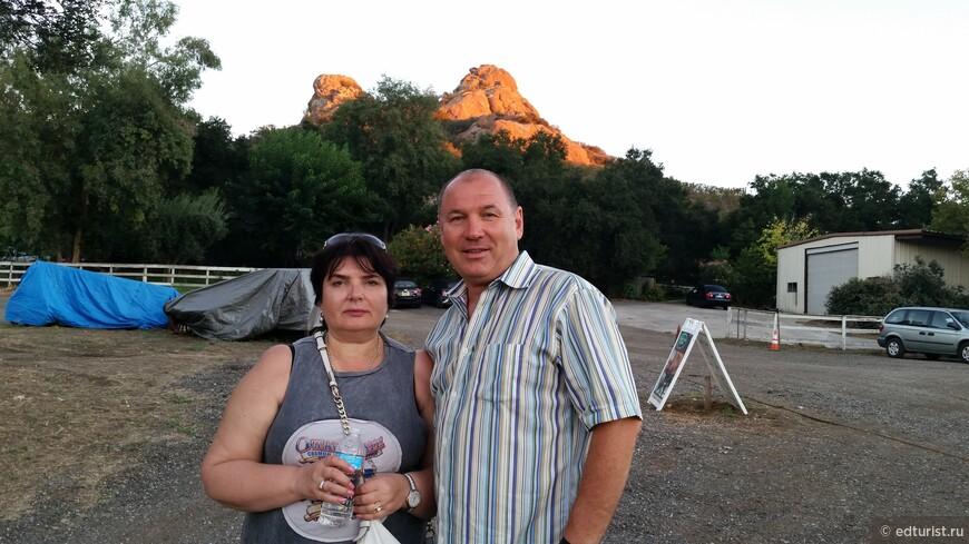 Закат в Малибу с дегустацией вин и моими туристами - отличное завершение дня