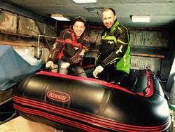 Двое россиян отправляются из Москвы на Мадагаскар на надувной лодке