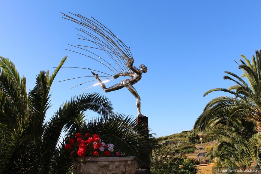 Привлекательная статуя!