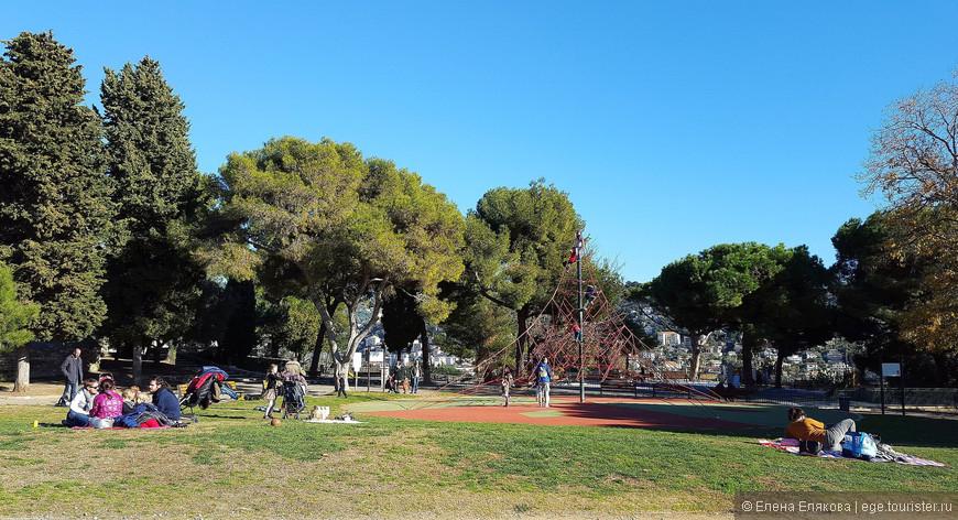 Детская площадка на Замковом холме