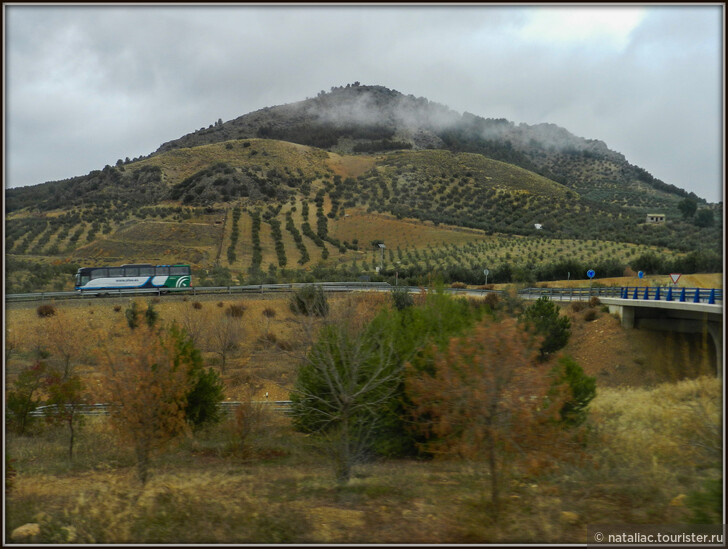Из Кордовы в Гранаду на автобусе