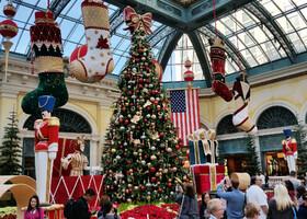Лас-Вегас на Рождество