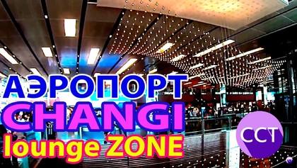 Вам понравится! Ништячок в аэропорту Сингапура Чанги.  Singapore Changi airport lounge decoration, 03:24