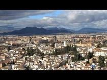 Гранада, вид на город с Альгамбры., 01:53