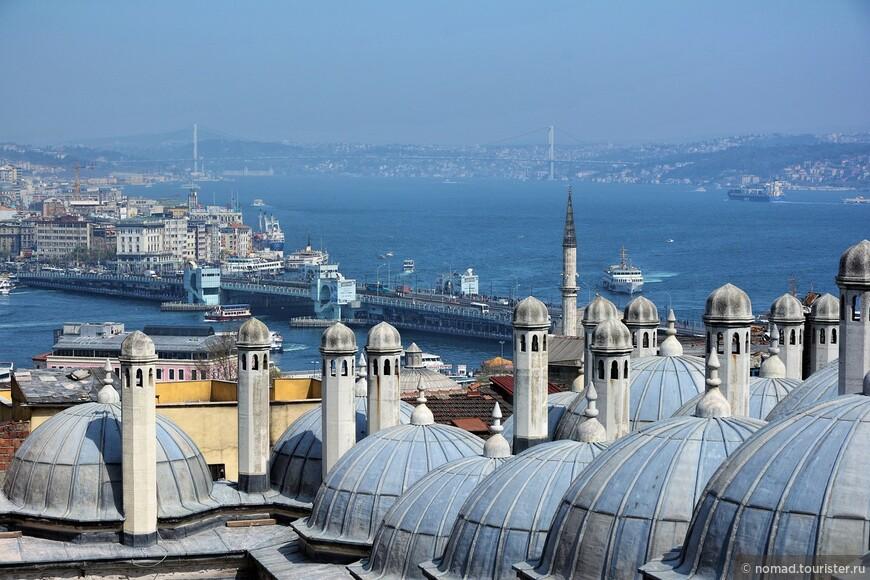 Вид от Мечети Сулеймание