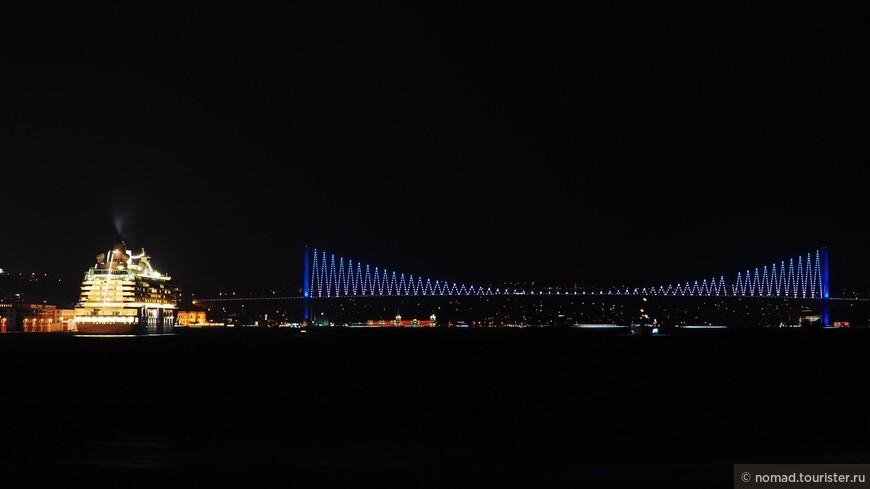 Вид на Босфорский мост