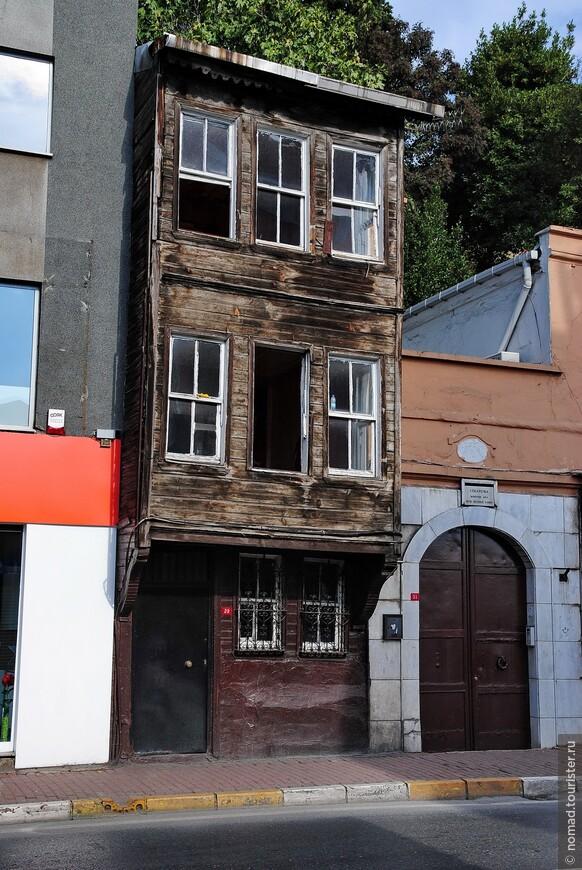 Стамбульские домики