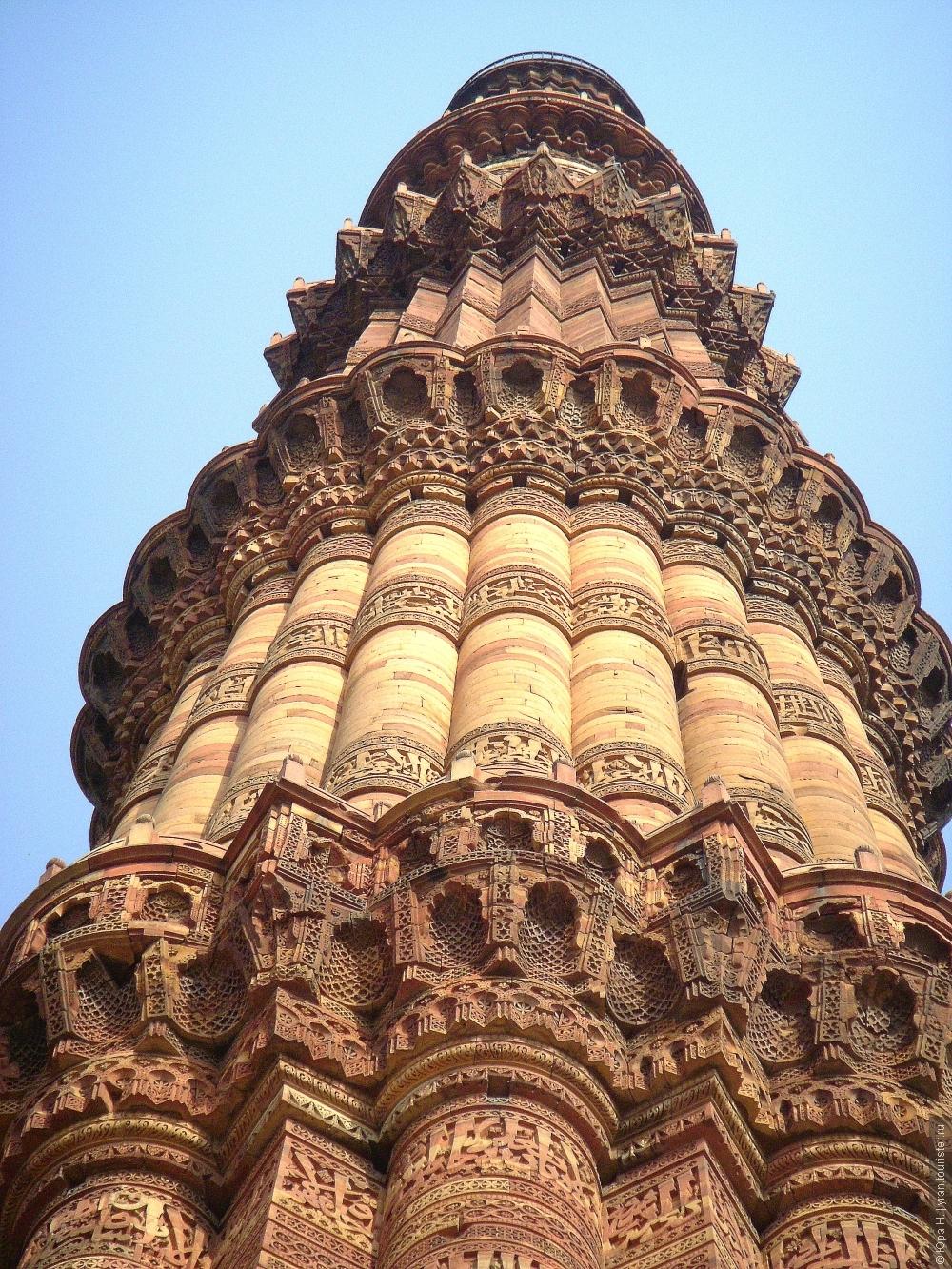 Кутаб-Минар. Символ мощи Ислама., отзыв от туриста yran на ... Карта Индии с Достопримечательностями