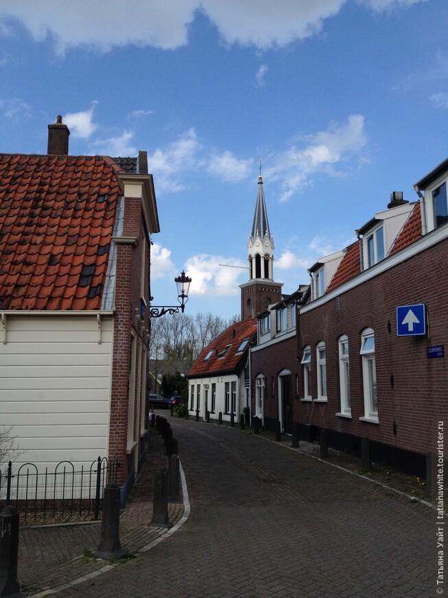 Небольшая деревенька на юго-западе Амстердама
