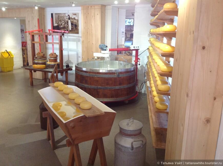 Сырное производтсво в самом центре Амстердама.