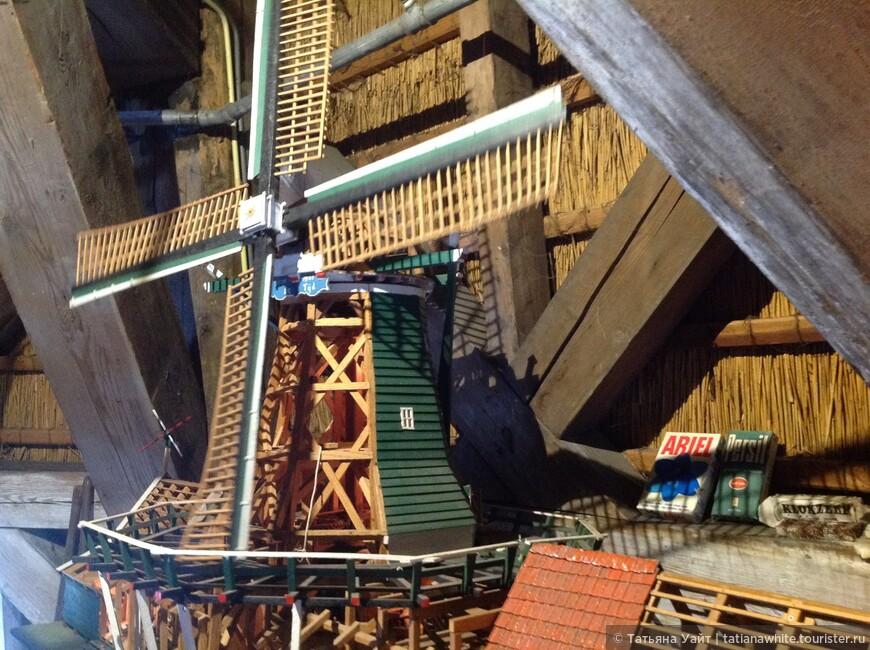 Как работает ветряная мельница.