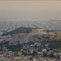 Ну и самый лучший в городе вид на Акрополь.
