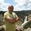 Водопад на Гранд Каньоне в Йеллоустоуне