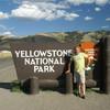 Город Гардинер в Монтане - северные ворота парка Йеллоустоун