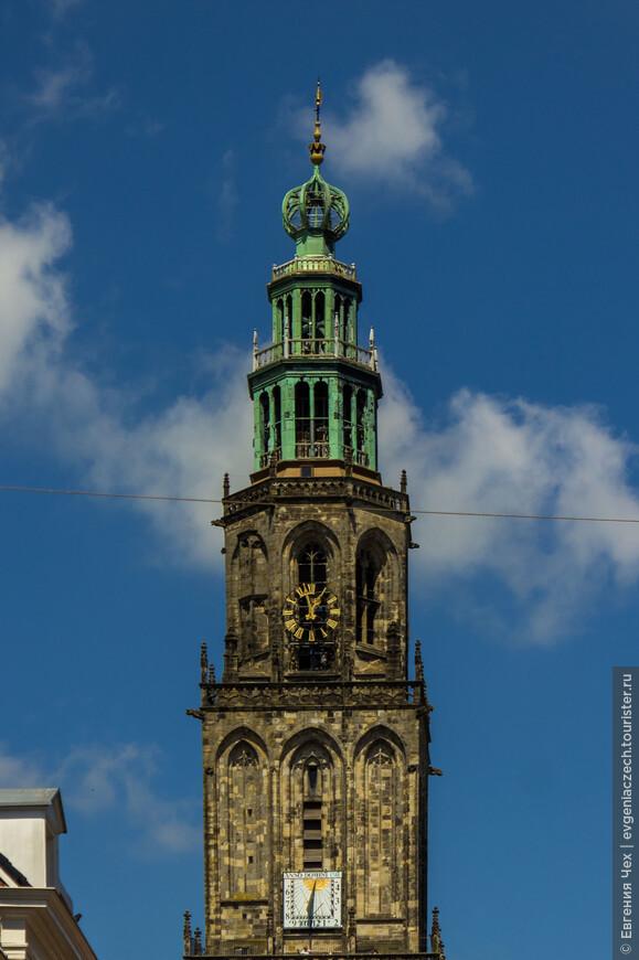Визитная карточка города - башня Мартини, часть старой церкви Святого Мартина. С нее открывается прекрасный вид на город.