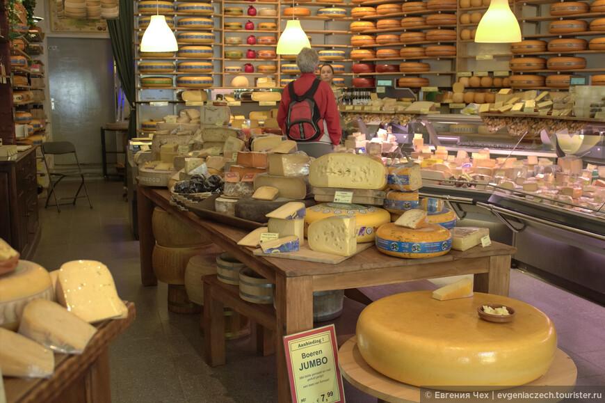 Продолжая гастрономическую тему, невозможно не упомянуть о гронинском магазине сыров. Пока вы перепробуете все сорта сыров, от традиционной Гауды до экзотичечких сортов с трюфелями, может пройти больше часа. Но осторожно, как бы не объесться!