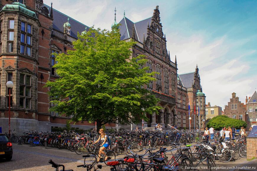 Университет был основан в 1614 году и является старейшим в Нидерландах.