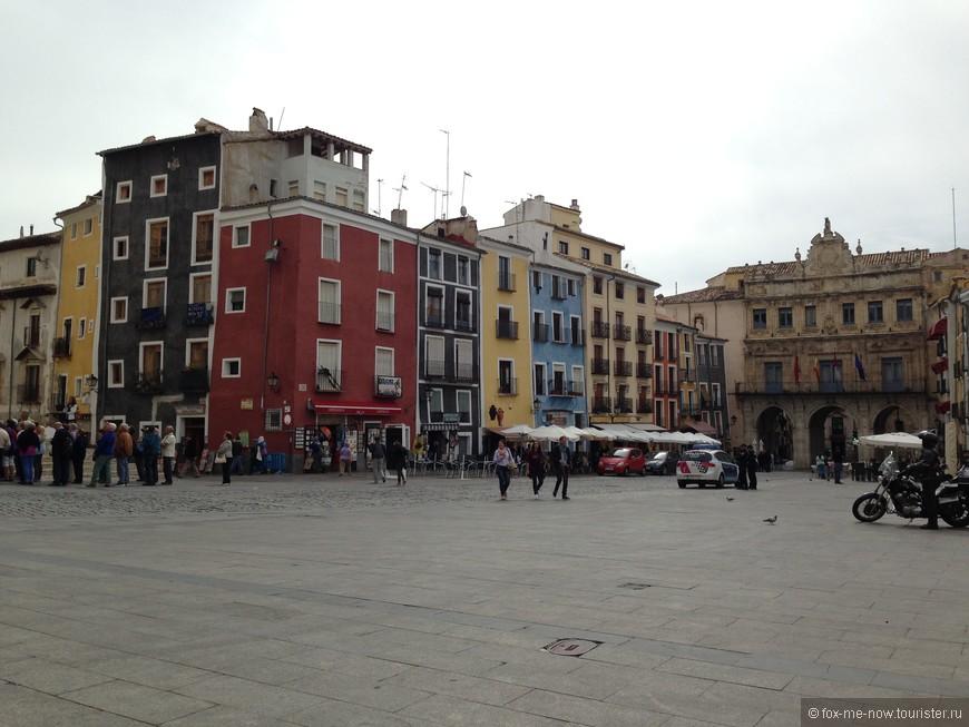 Главная площадь Куэнки (Plaza Mayor)