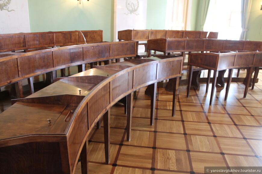 Учебный класс Царскосельского лицея.