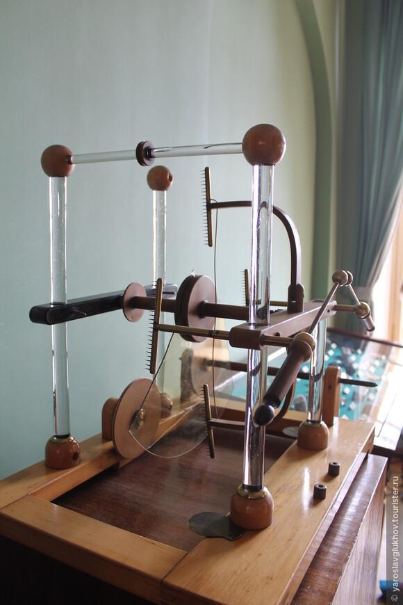 Оборудование в классе физики.