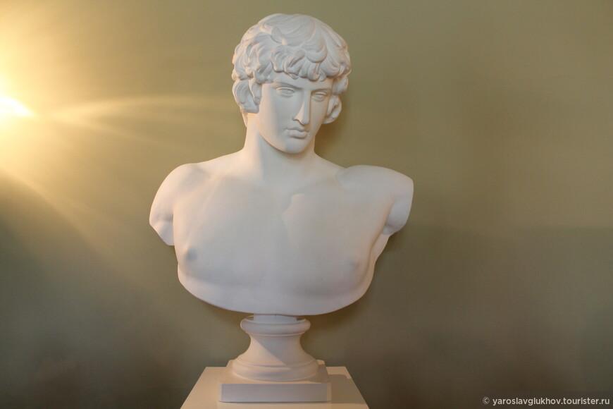 Также в классе рисования расположено несколько древнегреческих бюстов.