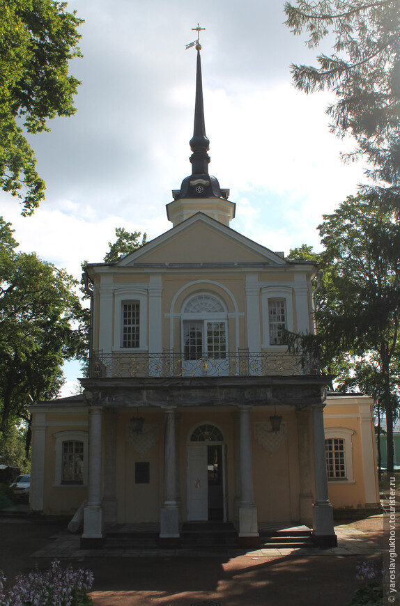 Знаменская церковь в Лицейском садике.