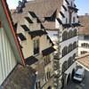 Вид с башни на старый город