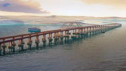 Керченский мост откроют в декабре 2018 года