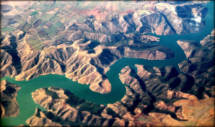 Озеро Sidi Mohammed Ben Abdellah, Марокко