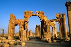 Копию арки из Пальмиры установили в Лондоне