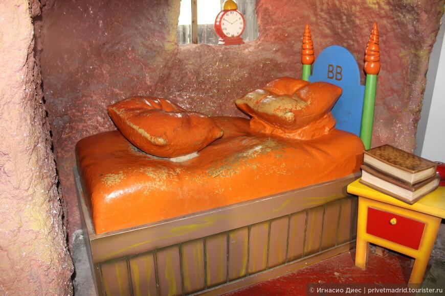 Вот где спит Бакс Банни!