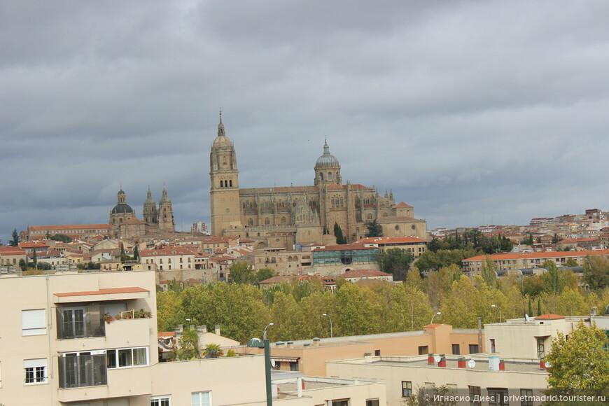 Панорама Саламанки из отеля Parador