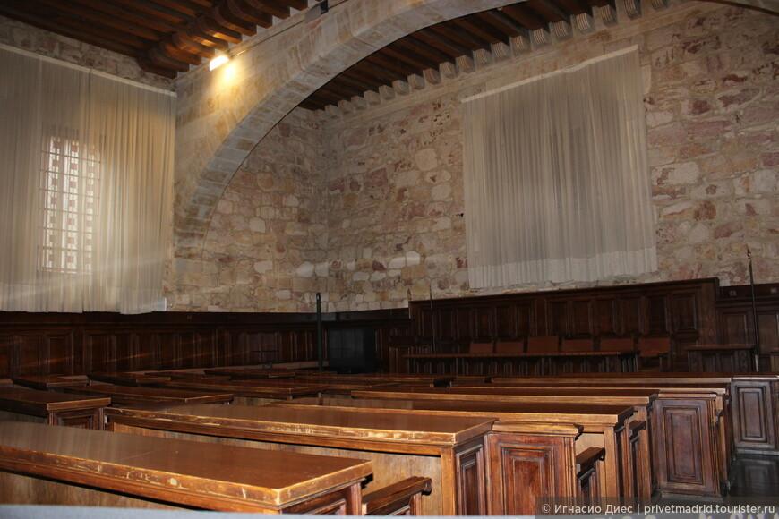 Аудитории в университете Саламанки