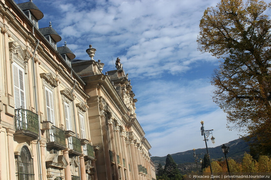 Летняя резиденция королей Ла - Гранха