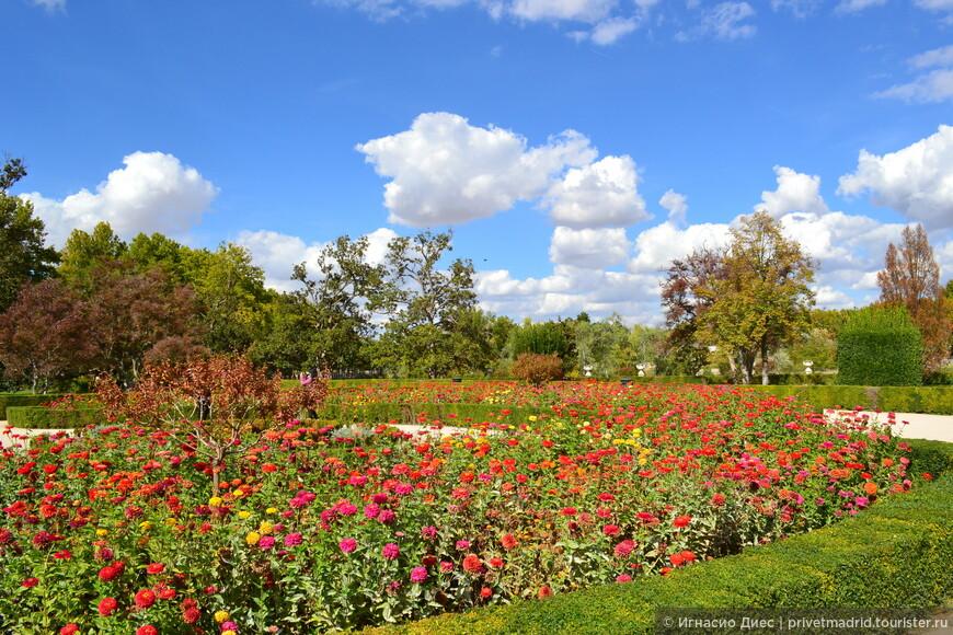 Сады королевского дворца в Аранхуэсе