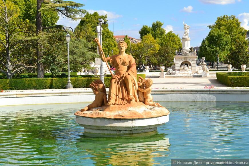 Самые известные фонтаны в Аранхуэс