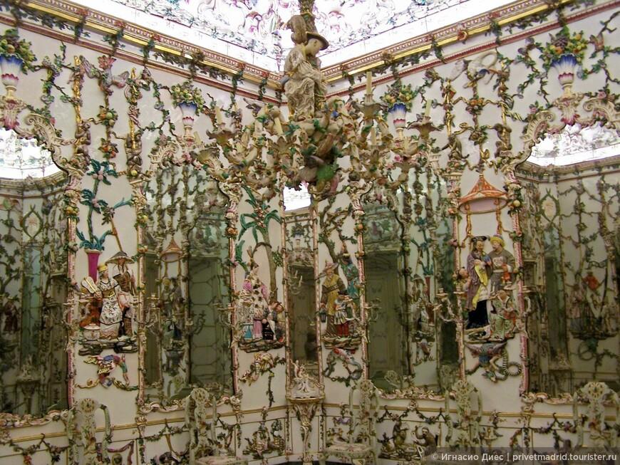 Фарфоровая комната в Королевском дворце Аранхуэс