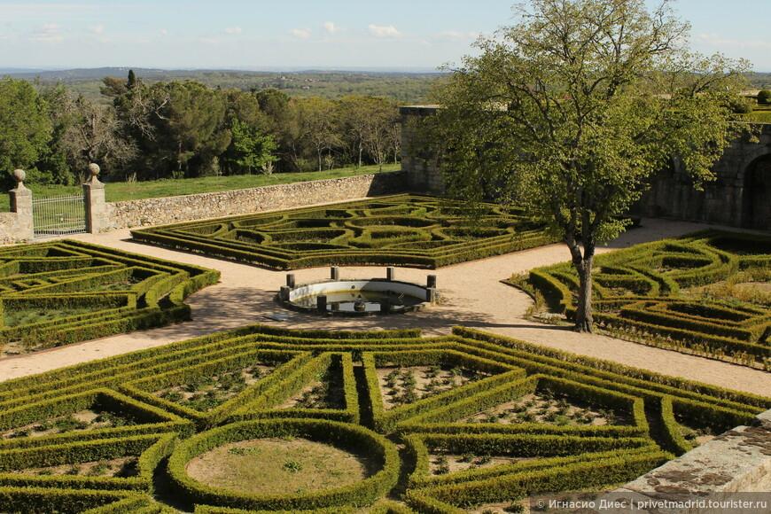 Парк королевского дворца Эскориаль