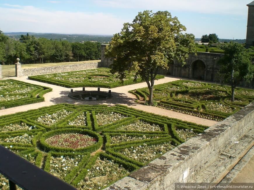 Парк в дворце