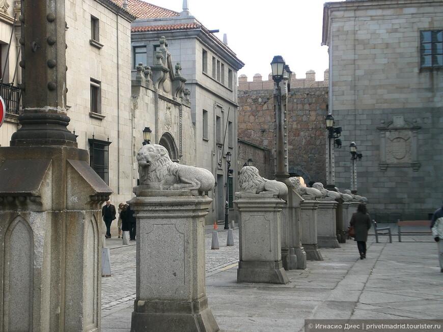 Центральная площадь в городе Авила