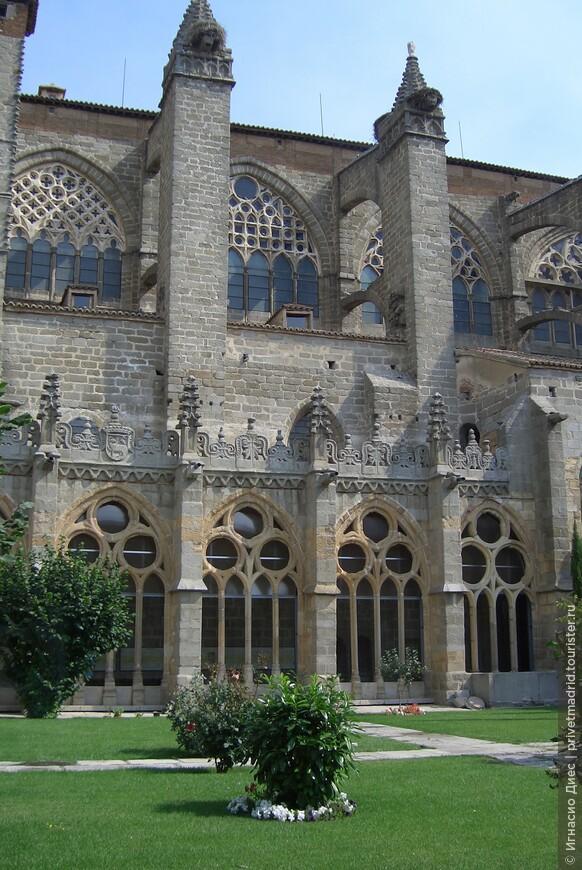 Сад в Кафедральном соборе