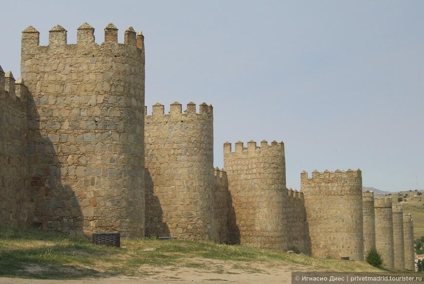 Авильская крепостная стена