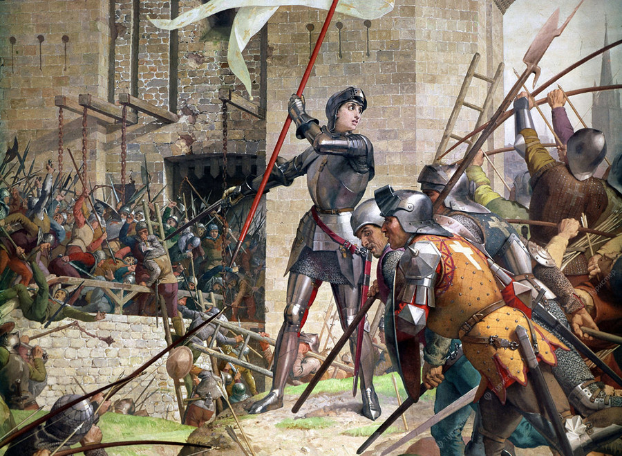 a biography of joan of arc a defender of france