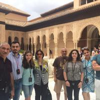 Мы в Альгамбре