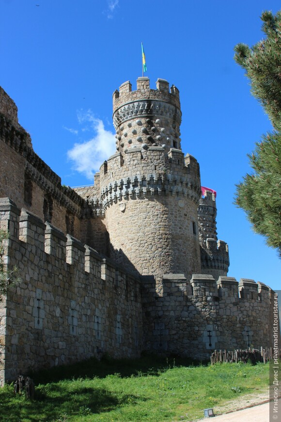 Башня замка Мансанарес